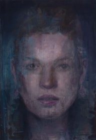 Reconstructed face (Kate Moss) II
