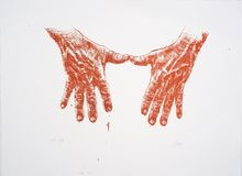 Hands  (red version)