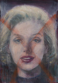 Reconstructed face (Marilyn)