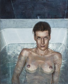 In the bath-tub