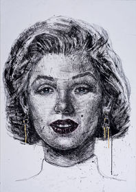 Imaginary portrait of Marilyn