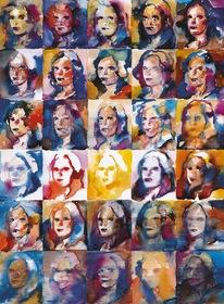 30 faces